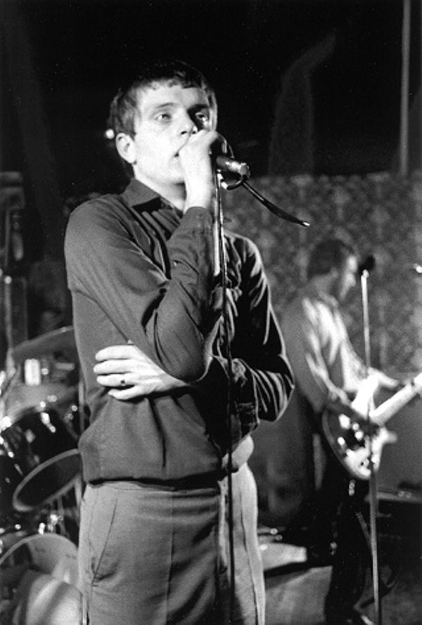 Ian Curtis of Joy Division