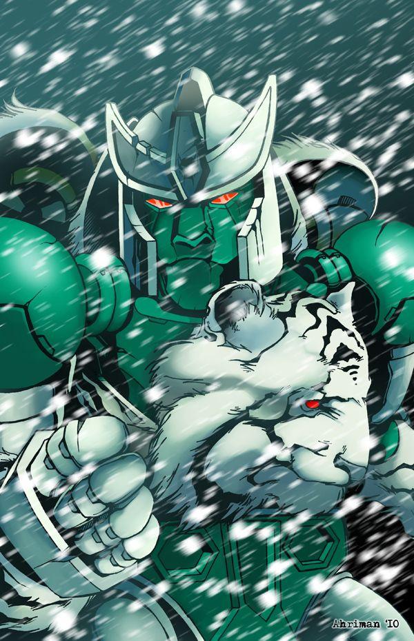 Transformers Beast Wars Tigatron.