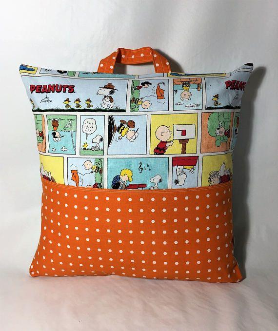 Reading Pillow // Pocket Pillow // Camping Pillow // Pillow