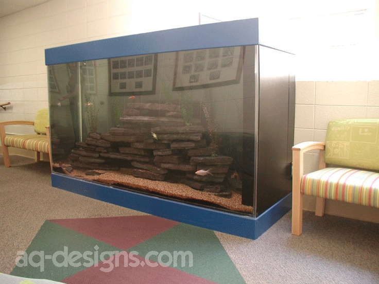 600 gallon aquarium on the floor where the kids can look for Floor fish tank