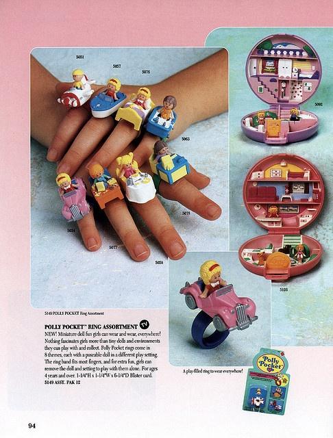 Polly pocket rings!