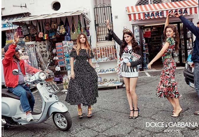 Dolce & Gabbana İlkbahar Yaz 2017 Reklam Kampanyası | Güzelkız.com