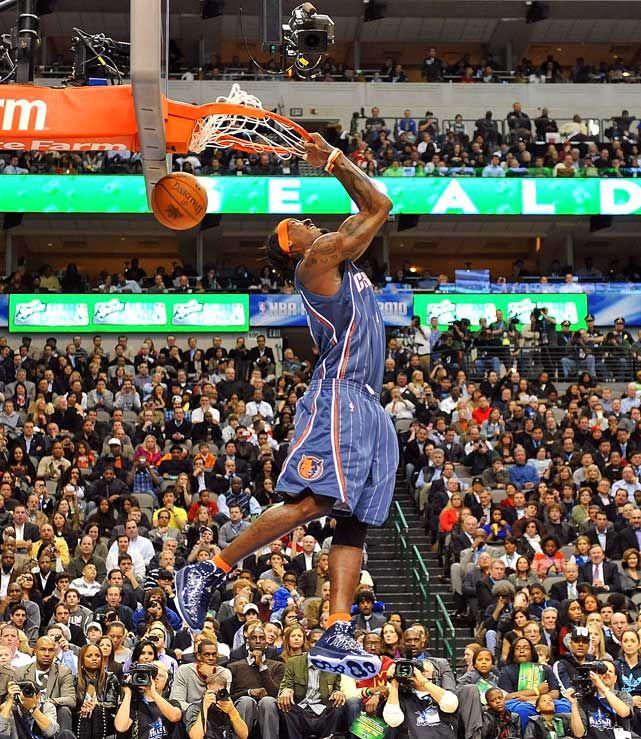 NBA Dunks | 2010 NBA Slam Dunk Contest - Gerald Wallace