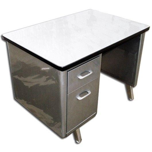 vintage steel furniture. interesting furniture retro office vintage american steel furniture specializes in  desks and all equipment single pedestal tanker desks intended