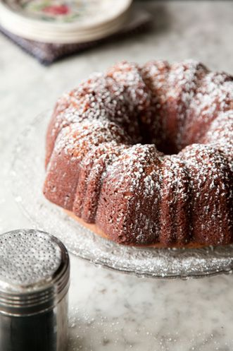 Sour Cream Chocolate Pound Cake