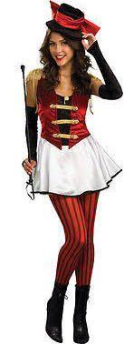 Circus lion tamer costume fancy dress