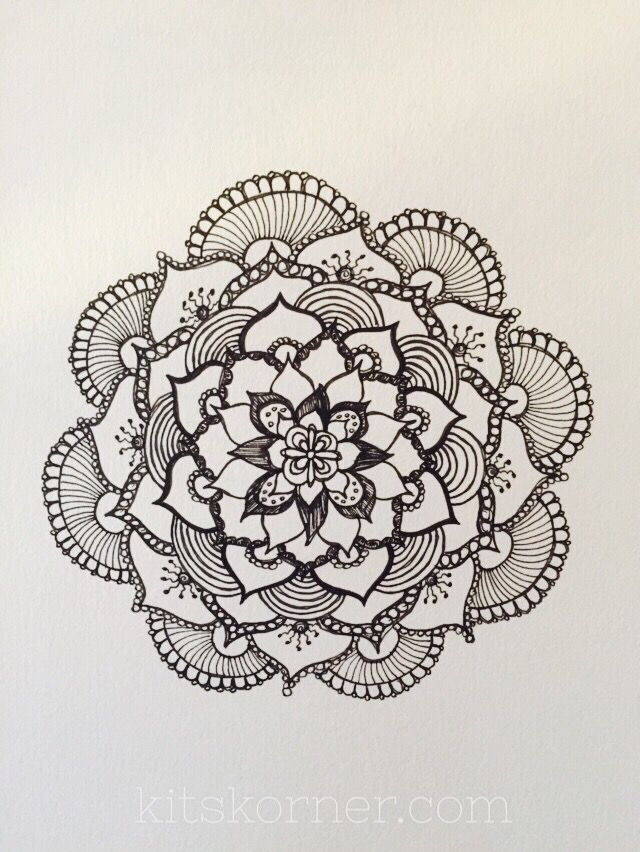 Mandalas are amazing and so much fun! ... I decided to gather up some of the mandala tutorialsthat I used in my mandala journey to share with you..