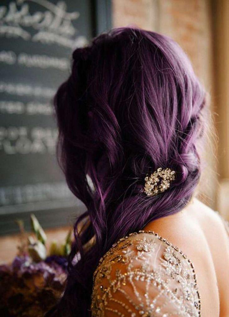 сиреневые волосы 19