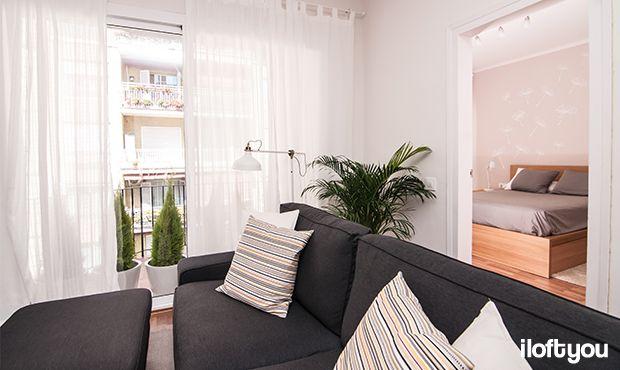 #proyectosantalo #iloftyou #interiordesign #ikea #barcelona #lowcost #ranarp #ribba #lack #besta #kivik #livingroom #matilda