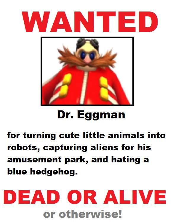 *begins searching for Eggman* *sees Mike Pollock* Found him! Well, his voice actor actually lol. Close enough.