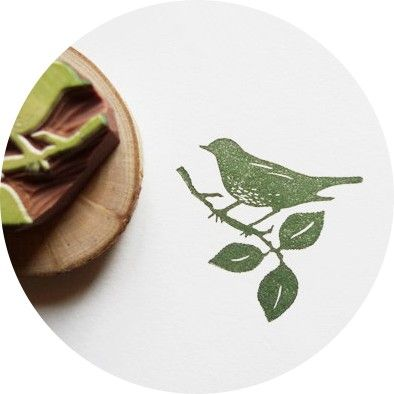 Bird and branch stamp - This is just to say #nordicdesigncollective #thisisjusttosay #bird #branch #stamp #diy #scrapbooking #handmade