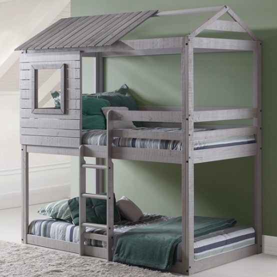 How Much Fun Would It Be To Sleep In This Treehouse Bunk Bed Bunk