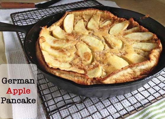 Gluten-Free Dutch Apple Pancake (Also called: Dutch Baby)