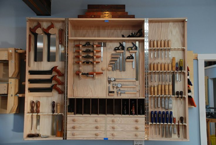 wall mounted tool cabinet plans 3