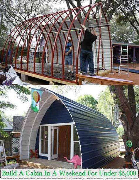 17 best ideas about build your own shed on pinterest for Cheapest way to build your own house