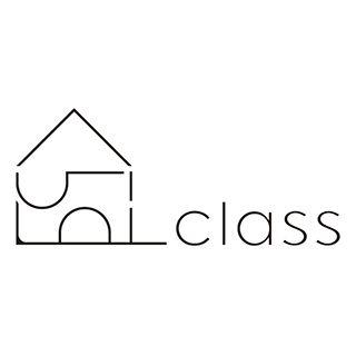佐賀県鳥栖市の建築設計事務所classのロゴマーク。 ショップや住宅のデザインを手がけています。