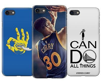 Stephen Curry Warriors NBA Basketball Rubber Phone Cover Case fits Apple Iphone