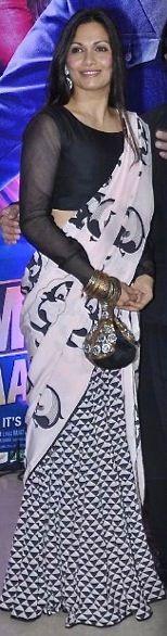 Maria Goretti saree