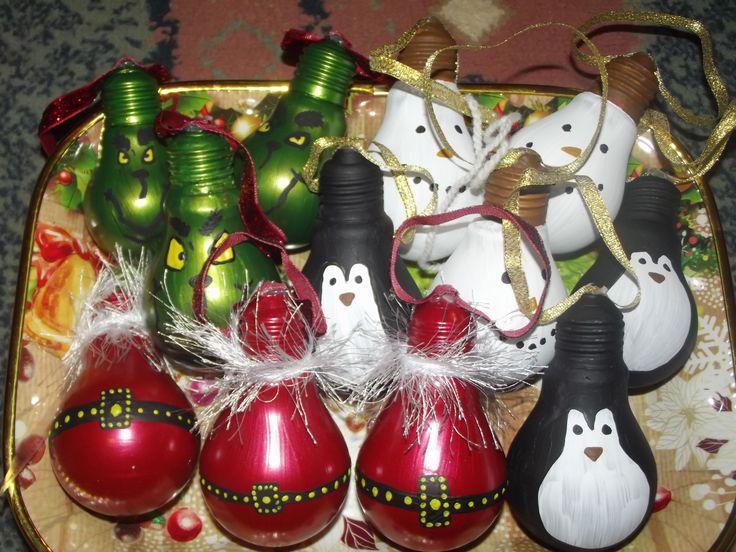 x-mas ornaments (bulb)