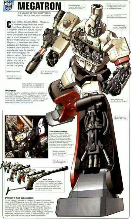 Megatron - Leader of the Decepticons