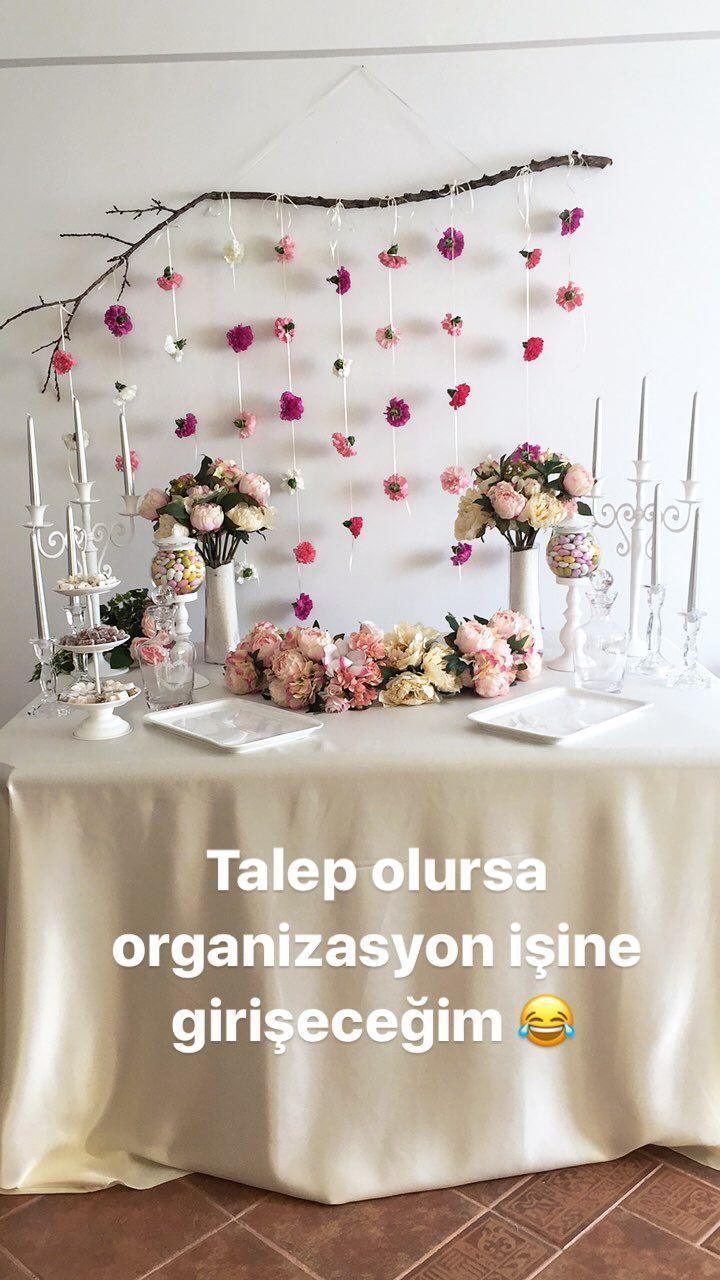 Nişan masası / Nişan Organizas