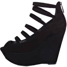 Картинки по запросу туфли черные на платформе