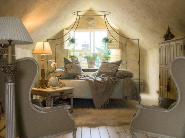 Déco de petite chambre avec ambiance romantique