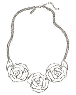 Lola Rose Necklace in Silver
