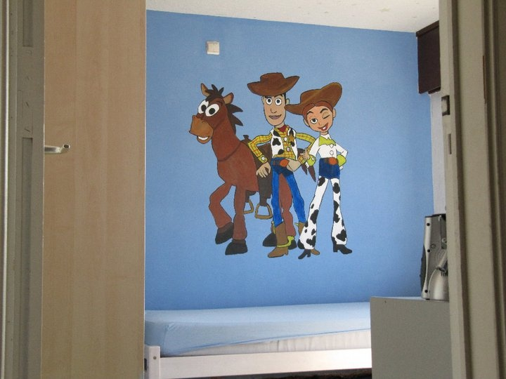 Toy Story Bedroom   Woody, Jessie   Bulls Eye. DJ Would LOVE This! Part 83