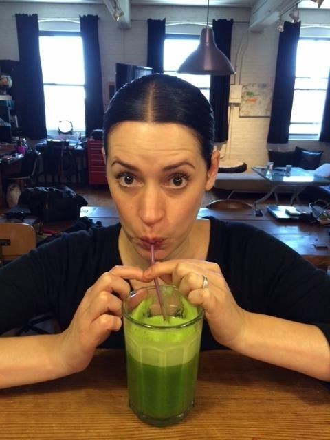 Paget Brewster, being adorable