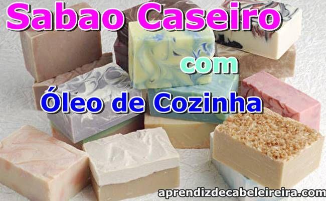 SABÃO CASEIRO com ÓLEO DE COZINHA USADO - PASSO A PASSO