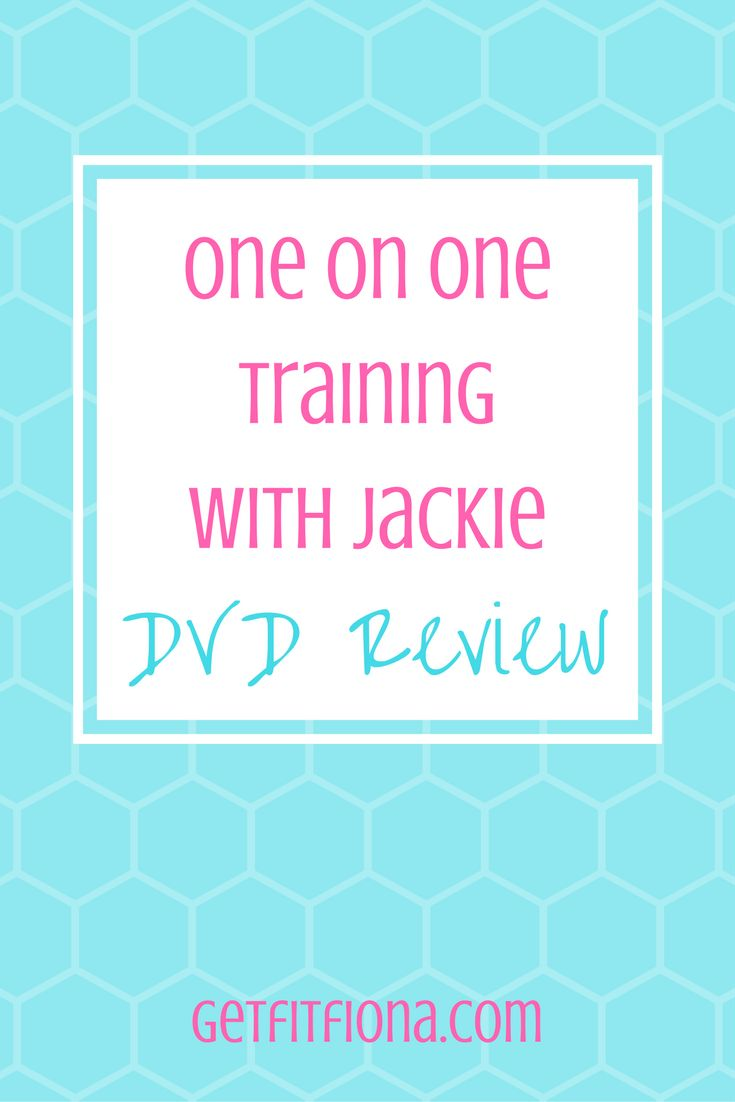 One on One Training with jackie DVD review warner upper body lower body lunges squats abs 20 minute 1 hour routine workout section killer