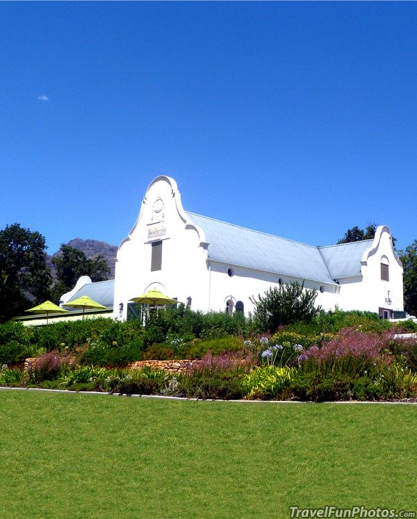 Dornier Vineyards Winery, Cape Town South Africa