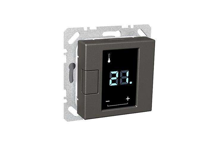Exxact termostat för golvvärme med display