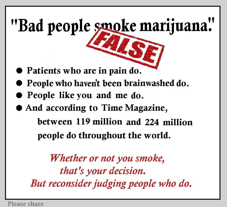 Marijuana judgement