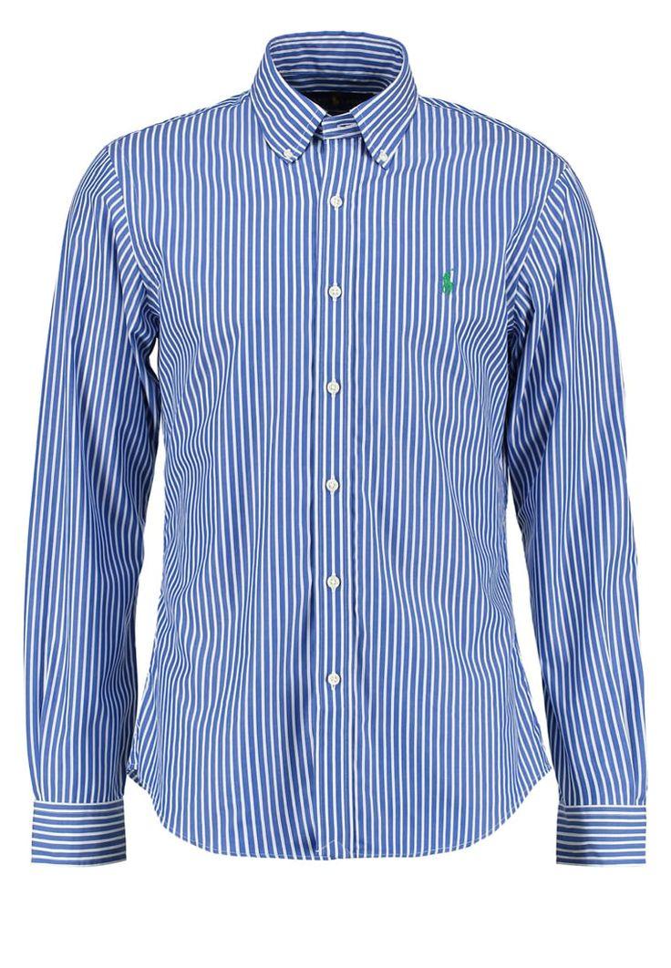 Polo Ralph Lauren SLIM FIT Hemd blue/white Premium bei Zalando.de | Material Oberstoff: 100% Baumwolle | Premium jetzt versandkostenfrei bei Zalando.de bestellen!