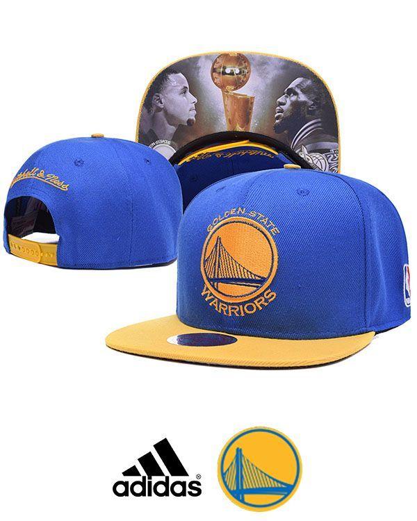 2015 NBA Champions Golden State Warriors Blue Cap