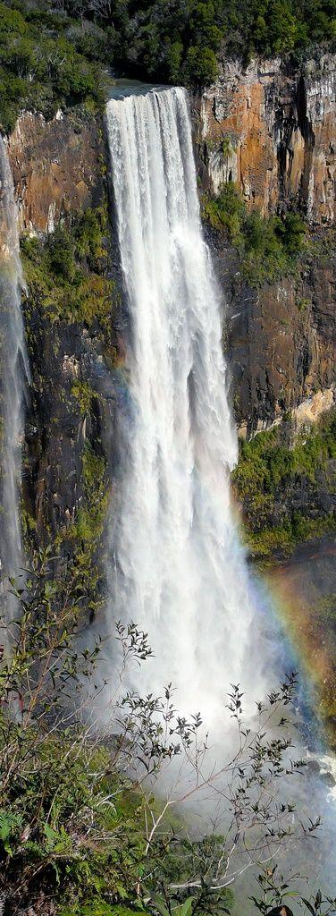 São Francisco Waterfall - Paraná - Brazil http://www.etravelphotos.com/photos.php?keyword=brazil