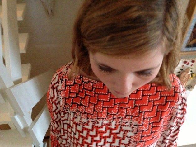 Håndarbeiden » Sy superenkel kjole eller genser - søm - sying - handmade - craft - sweater - dress - fashion
