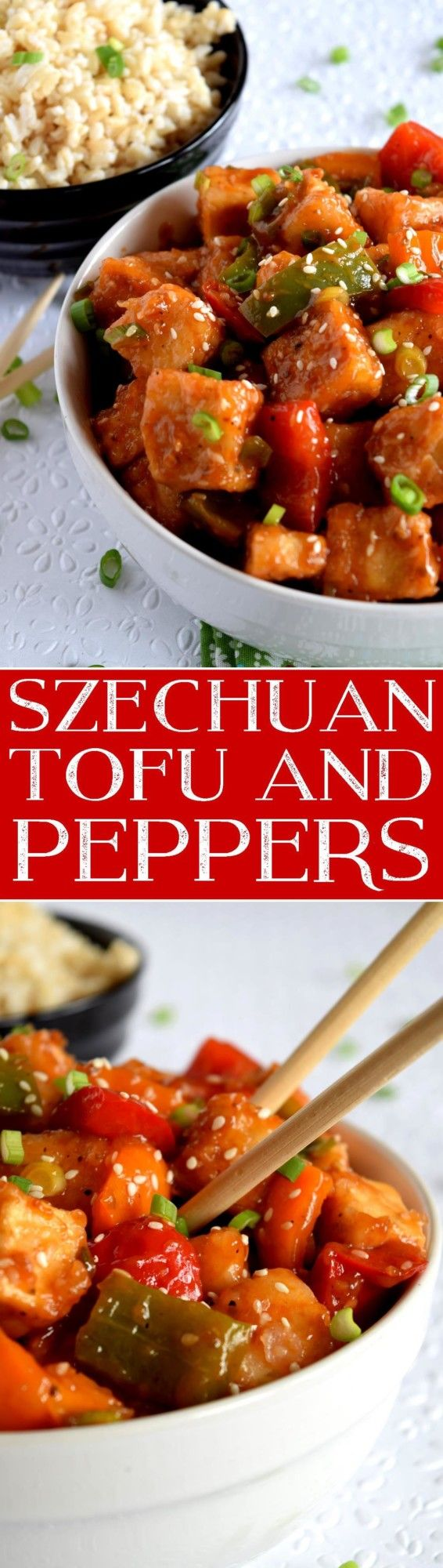 Szechuan Tofu and Peppers - Lord Byron's Kitchen
