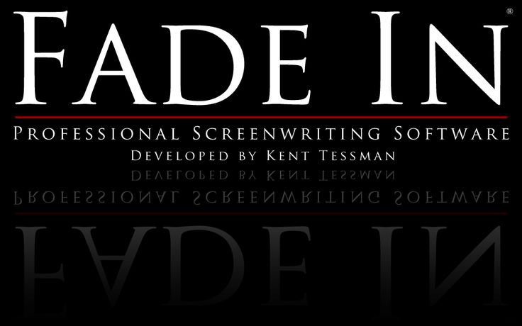 Fade In Pro: Screenwriting's best kept secret