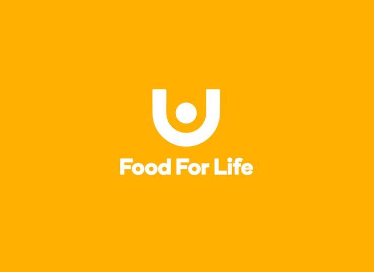 Logomark for global food relief organisation Food For Life