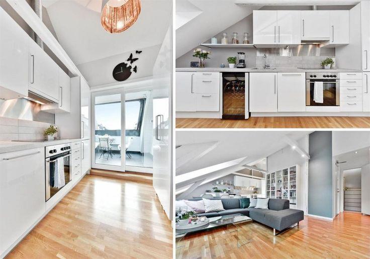 BESTE GRÜNERLØKKA - Fantastisk 3-roms loftsleilighet med høy standard, privat takterrasse og meget attraktiv beliggenhet. 64m2 gulvareal!