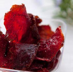 Chips di rape rosse  #snack #italianfood