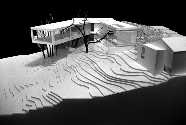 sloping hill architecture - Google Search