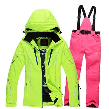ROSSIGNOL Outdoor Winter Ski Snowboard Set - Women's