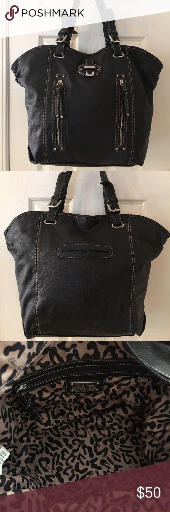 🛍 Nine West Large Black Silver Shoulder Bag Mass posting.  Well add description shortly💕 Nine West Bags Shoulder Bags