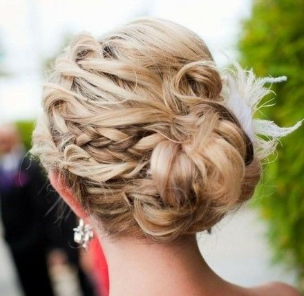 Unique Updos for Long Hair | Very Different And Pretty Braided Updo-0