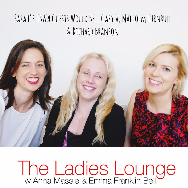 Anna Massie and Emma Franklin Bell invite you into The Ladies Lounge to listen in as guests confess the truth and reveal what made them want to be their own boss and what drove them to jump ship from the life they were living into the often daunting and unpredictable road less traveled - entrepreneurial life. In up-close-and-personal candid conversations, inspirational and empowering ladies uncover the raw truth behind their business and their beginnings.