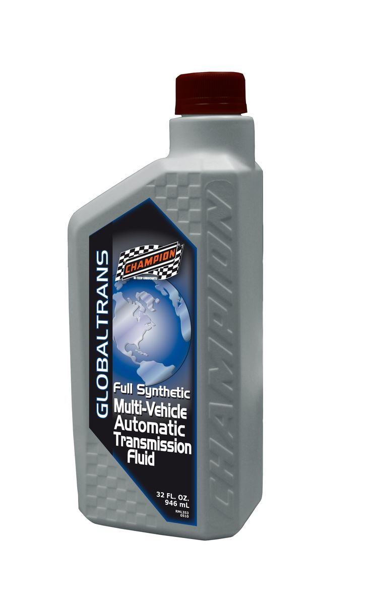 Champion Global Trans Synthetic Transmission Fluid 4357H Case of 6 Quarts